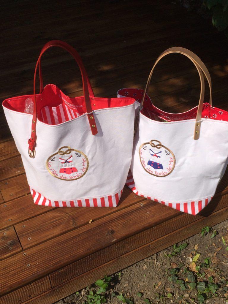 Les filles du bord de mer - Le sac cabas à emmener partout cet été !