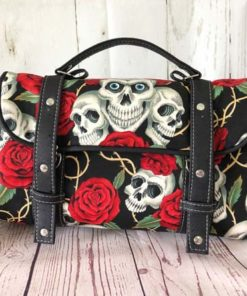 Sac cartable Miss Skull & Roses