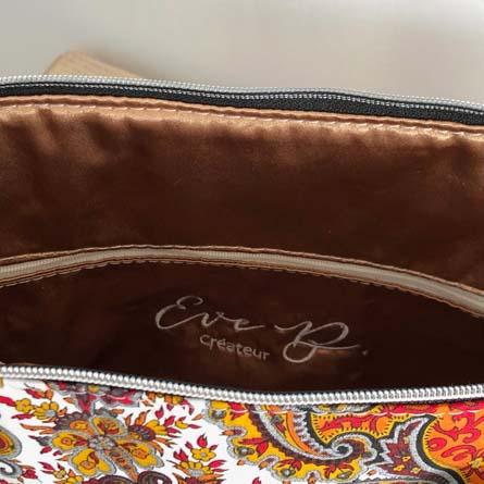 Intérieur du sac bowling Cachemire